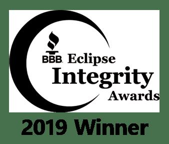 BBB Eclipse Integrity Awards 2019 Winner