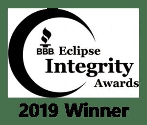 BBB Eclipse Integrity Awards - 2019 Winner